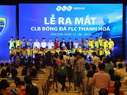 FLC chính thức ra mắt CLB Bóng đá FLC Thanh Hóa