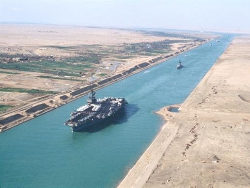 Ai Cập khánh thành kênh đào Suez mới vào tháng 8/2015