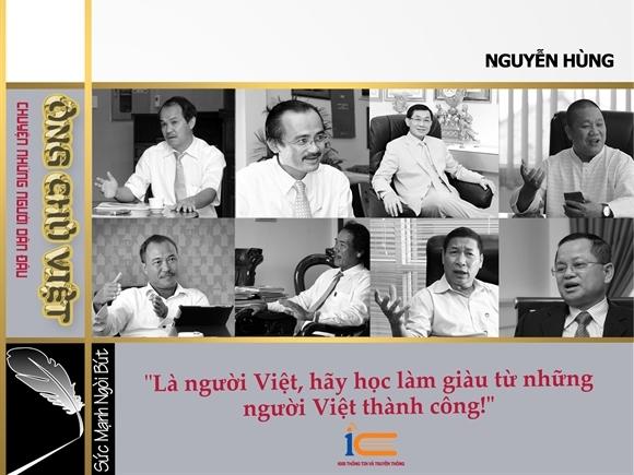 Giới thiệu sách của nhà báo Nguyễn Hùng: Ông Chủ Việt