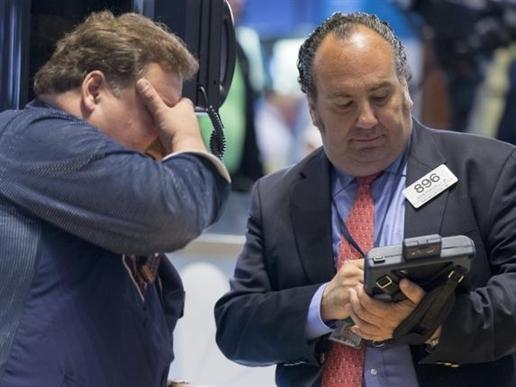 Chứng khoán Mỹ giảm điểm do lo ngại tình hình Hy Lạp