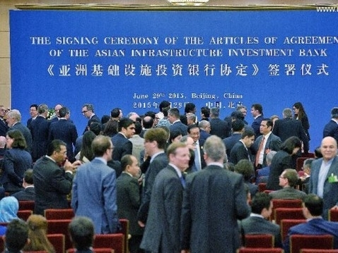 AIIB do Trung Quốc khởi xướng chính thức ra đời