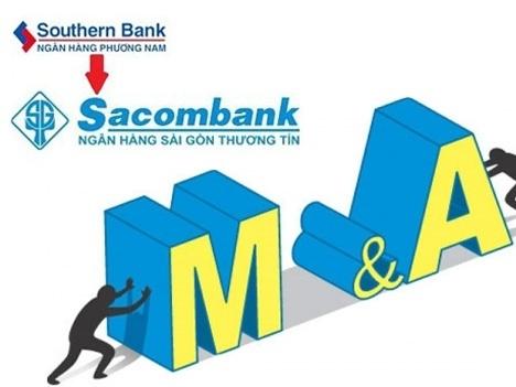 Tỷ lệ hoán đổi cổ phiếu giữa Sacombank và Southern Bank là 1:0,75