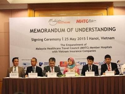 Giới bảo hiểm Việt Nam liên kết với bệnh viện Malaysia