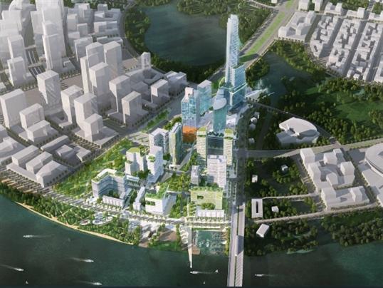 1,2 tỷ USD xây khu phức hợp tháp quan sát 86 tầng trong khu Thủ Thiêm