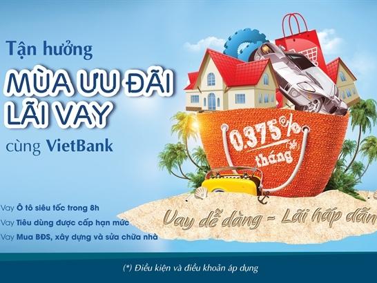 Mùa ưu đãi lãi vay tại VietBank