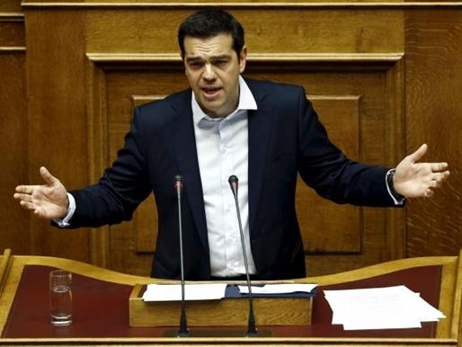 """Thủ tướng Hy Lạp kêu gọi nói """"không"""" trong cuộc trưng cầu ý dân"""