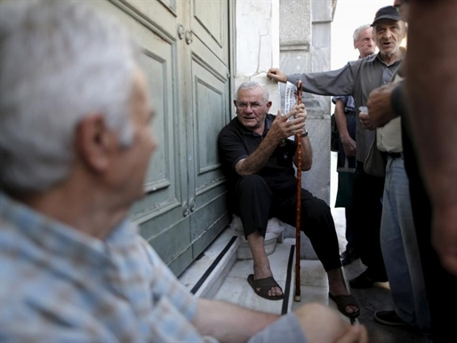 Cuộc sống khốn khó của người hưu trí Hy Lạp
