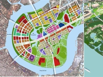 TP.HCM: Doanh nghiệp đề nghị đổi đất lấy cầu Thủ Thiêm 4