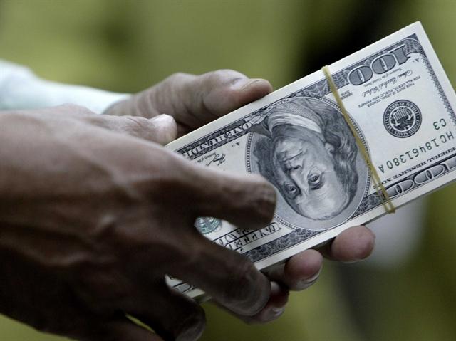 USD lên cao nhất 5 tuần do lo ngại Hy Lạp, chứng khoán Trung Quốc