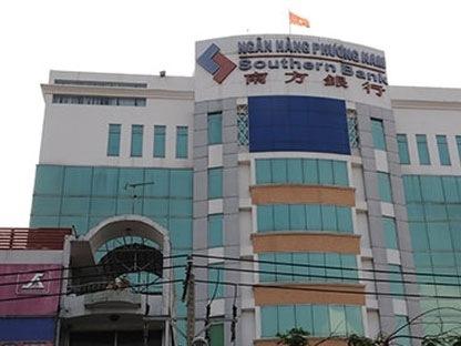 Nợ xấu Southern Bank tháng 11/2013 là 55,31%