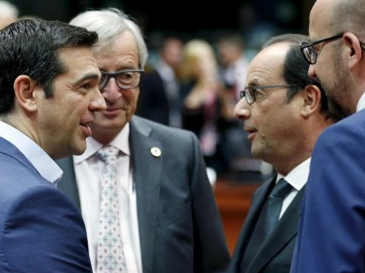 Eurozone nhất trí thỏa thuận cứu trợ cho Hy Lạp