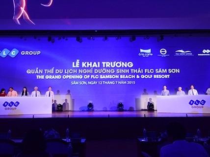 FLC đưa vào hoạt động dự án 5.500 tỷ đồng tại Thanh Hóa