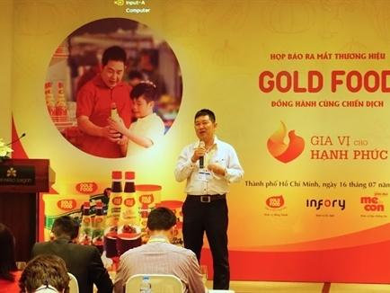 Gotec Việt Nam ra mắt gia vị Gold Food