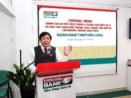 Kienlongbank lãi 158 tỷ đồng sau 6 tháng, đạt 41% kế hoạch