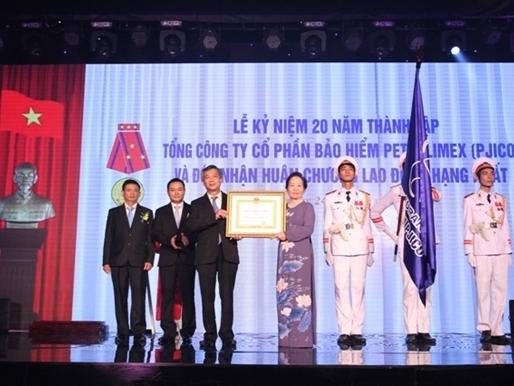 PJICO kỷ niệm 20 năm thành lập, nhận Huân chương Lao động hạng Nhất