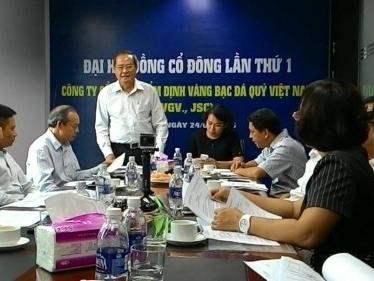 Phó TGĐ NamABank giữ chức Chủ tịch Công ty Kiểm định vàng bạc đá quý Việt Nam