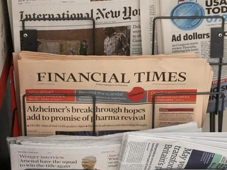 Giới chuyên gia nhận định về vụ Nikkei mua tờ Finanical Times