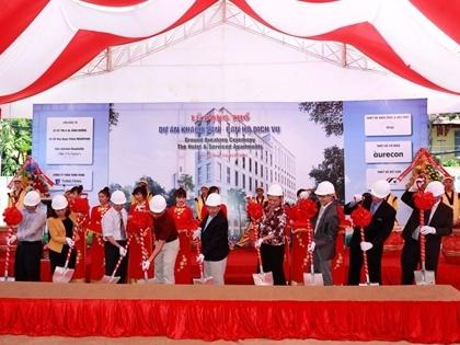 Động thổ dự án căn hộ và khách sạn cao cấp tại Q3, TPHCM