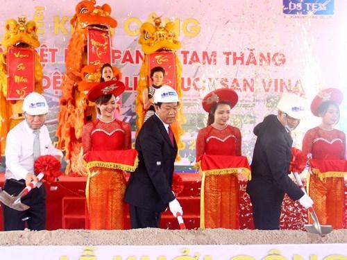 Hàn Quốc đầu tư 80 triệu USD xây hai nhà máy dệt may tại Quảng Nam