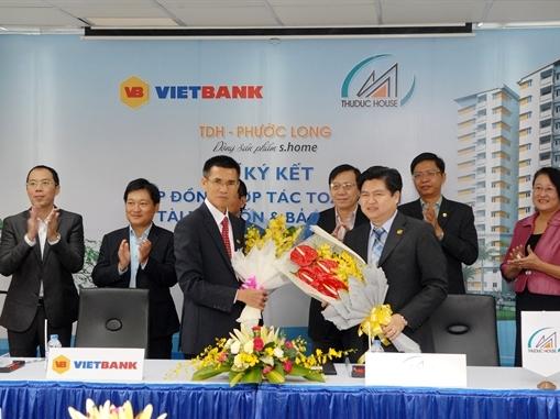 VietBank ký kết hợp tác với Thuduc House