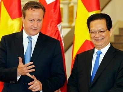 Báo Anh: Thủ tướng David Cameron nhận thấy cơ hội kinh doanh ở Việt Nam