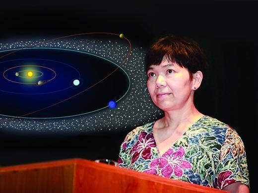 GS Lưu Lệ Hằng: Người hé mở bí ẩn của hệ Mặt Trời