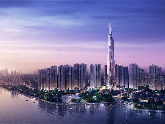 Atkins bắt đầu thiết kế tòa tháp Landmark 81 của Vingroup