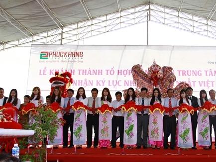 Làng Sen Việt Nam: Khánh thành tổ hợp công viên trung tâm Bách Việt và nhận kỷ lục