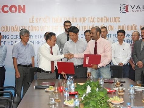 FECON và quỹ UAE hợp tác đầu tư công viên 175ha ở Phú Quốc