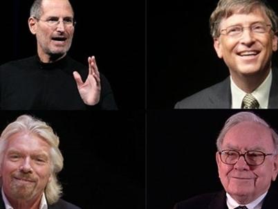 50 bài học quản trị từ Jobs, Gates, Buffett và Branson
