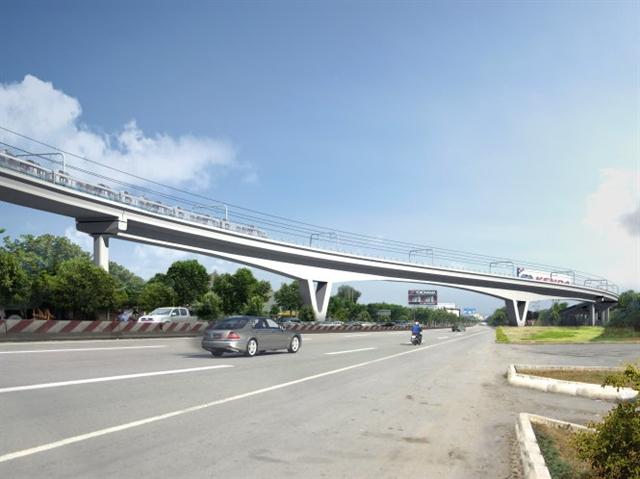 TPHCM: Xây cầu metro vượt xa lộ Hà Nội