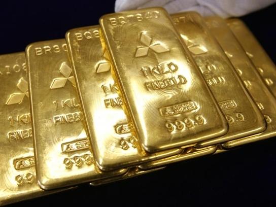 Giá vàng lập đỉnh mới khi USD và chứng khoán giảm