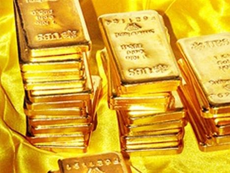 Giá vàng quay đầu giảm, đứt mạch tăng 5 phiên liên tiếp