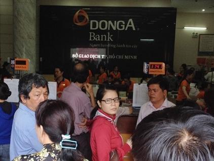 Ngân hàng Nhà nước cam kết ứng cứu kịp thời cho DongA Bank
