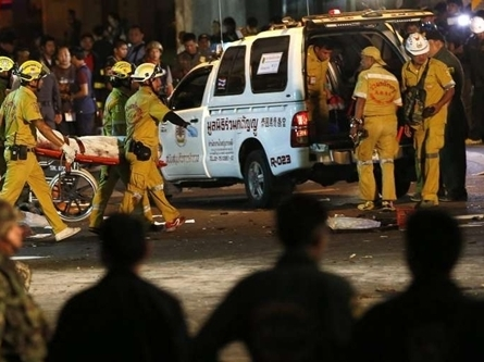 Bom lại nổ ở Bangkok