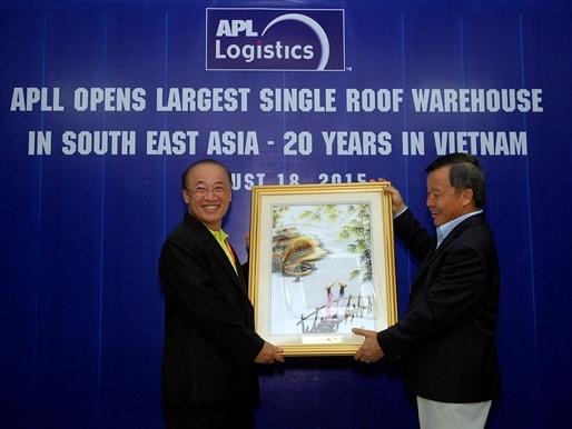TBS Logistics và APL Logistics khánh thành nhà kho lớn nhất Đông Nam Á