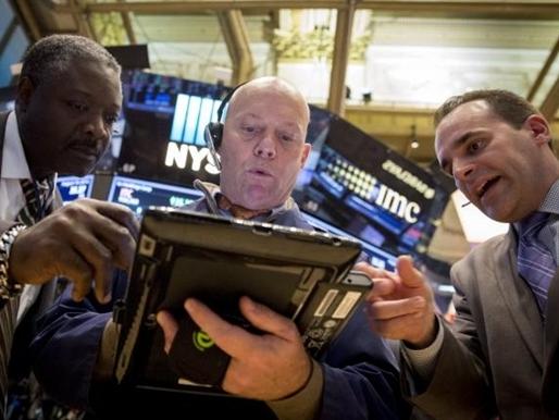 Chứng khoán Mỹ tiếp tục giảm do lo ngại tăng trưởng kinh tế toàn cầu