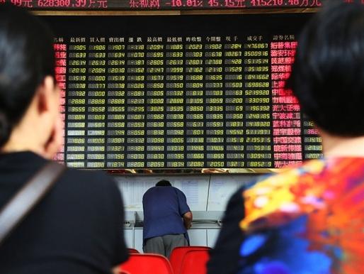 Chứng khoán Trung Quốc giảm mạnh nhất kể từ 2007