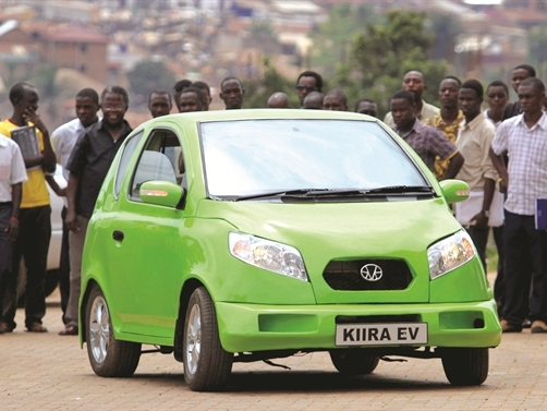 Uganda và giấc mơ ôtô hybrid