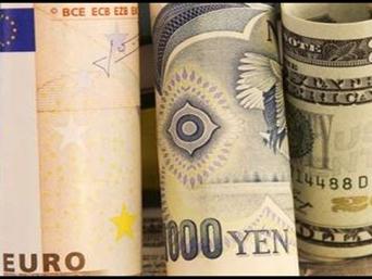 Euro và yên lên cao nhất 7 tháng