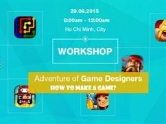 Workshop chuyên sâu về game design tại Việt Nam