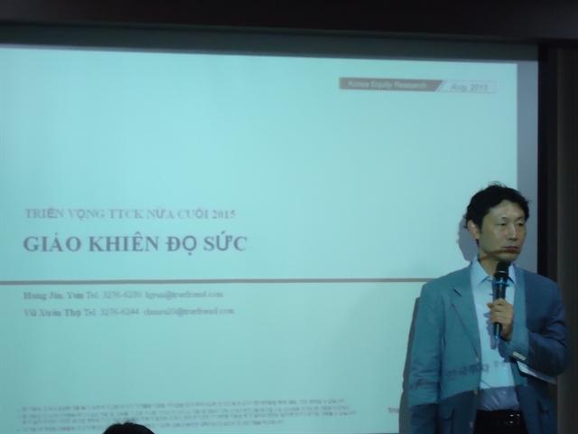 KIS Việt Nam: VN-Index nửa cuối năm sẽ giống như nửa đầu năm