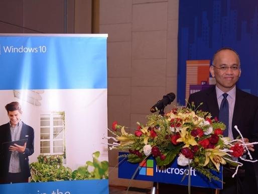 """Microsoft Việt Nam tổ chức sự kiện """"Trải nghiệm giải pháp nâng cao hiệu suất làm việc cùng Windows 10"""""""