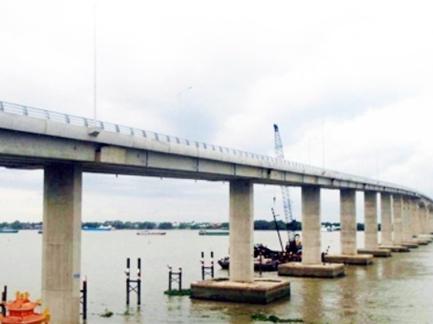 Thông xe cầu Mỹ Lợi nối Long An - Tiền Giang