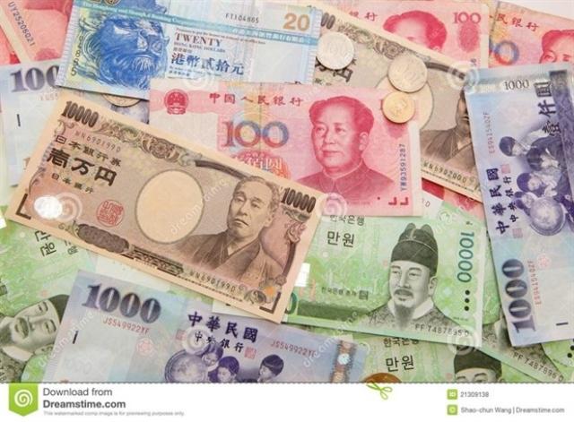 Các đồng tiền châu Á mất giá mạnh nhất 3 năm qua