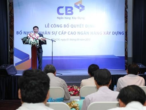 Điều thêm một cán bộ Vietcombank làm phó tổng CBank
