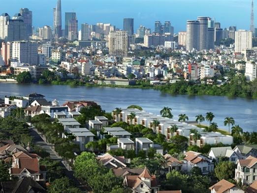 Địa ốc Hòa Bình trúng gói thầu 382 tỷ đồng xây biệt thự Holm Residences