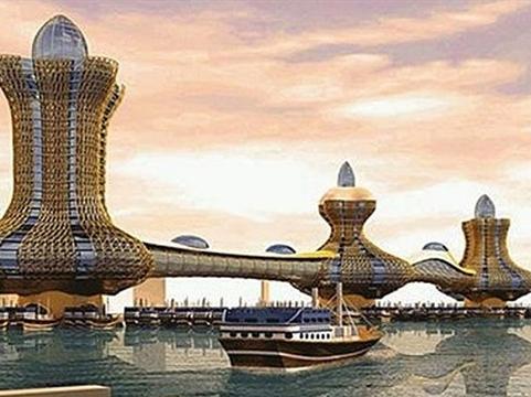 Dubai sắp xây khu phức hợp lấy cảm hứng từ đèn thần Aladdin