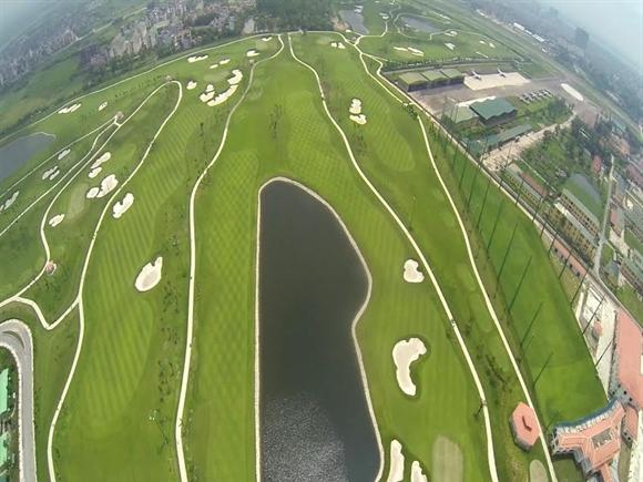 'Ngừng thi công vô thời hạn' sân golf Long Biên