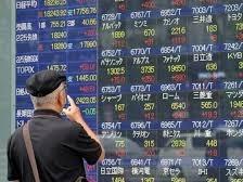 Chứng khoán Nhật Bản xác lập mức tăng kỷ lục 7,7%